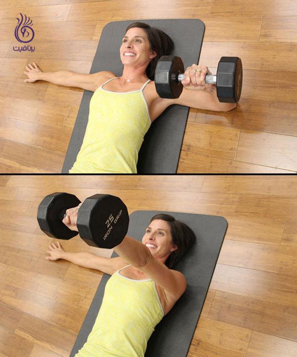 پرس بر روی زمین- ورزش و تناسب اندام- برنافیت
