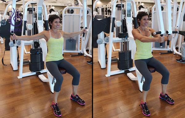دستگاه فلای عضلات پکتورال- ورزش و تناسب اندام- برنافیت