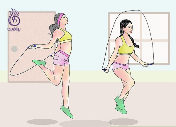 انواع طناب زدن- ورزش و تناسب اندام- برنافیت