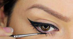 چگونه متناسب با فرم چشم ها خط چشم بکشیم؟