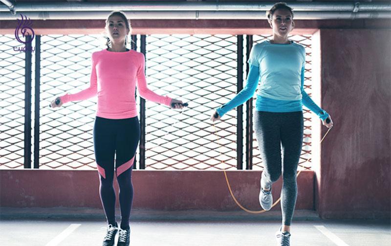 طناب زدن- ورزش و تناسب اندام- برنافیت