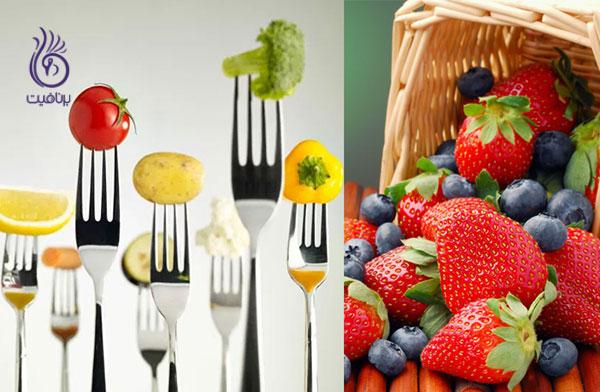 رژیم خام خواری- تغذیه- برنافیت