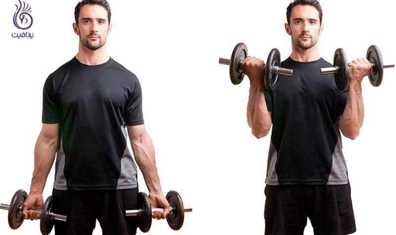 بالا تنه- ورزش و تناسب اندام- برنافیت
