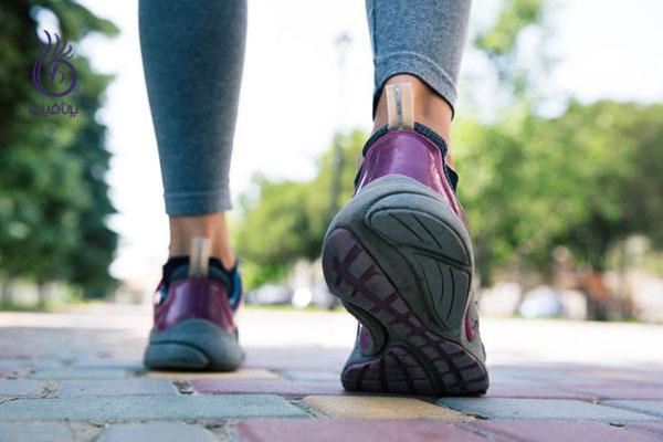 آب کردن چربی شکم- پیاده روی- برنافیت