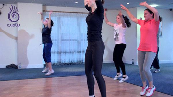 زومبا- ورزش و تناسب اندام- برنافیت