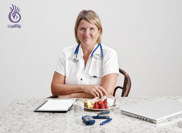 متخصص تغذیه- تغذیه- برنافیت