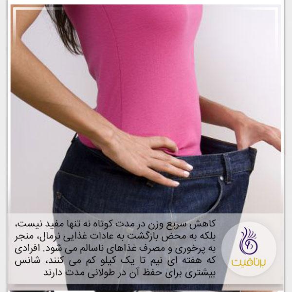 رژیم سم زدایی- کاهش وزن سریع- برنافیت
