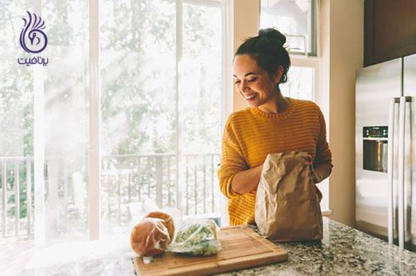مصرف غذای کمتر- تغذیه- برنافیت