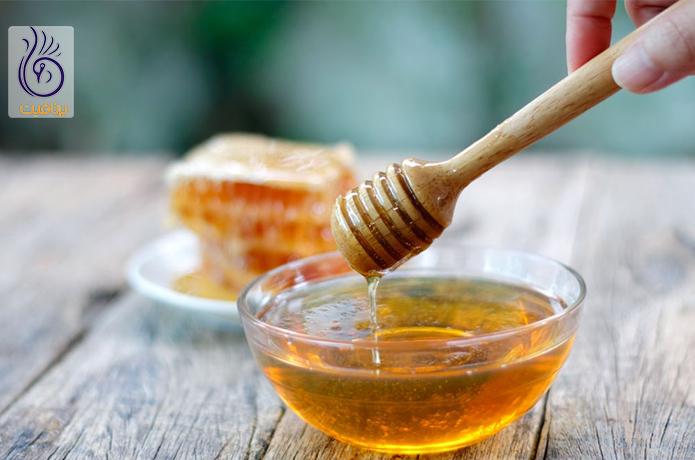 عسل و درمان جوش صورت