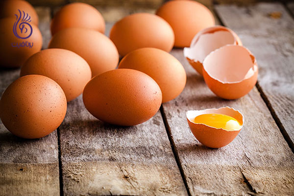 پرپشت شدن ابروها- زرده تخم مرغ- برنافیت