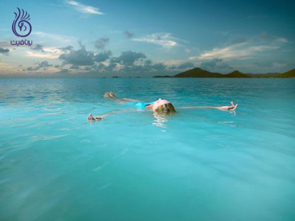 ورزش های آبی- مدیتیشن شناور- برنافیت