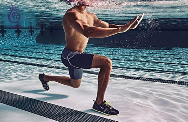 ورزش های آبی- تمرین های قدرتی زیر آب- برنافیت