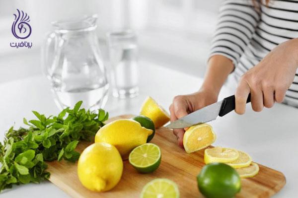 چرا باید آب لیمو مصرف کنیم- سبک زندگی- برنافیت