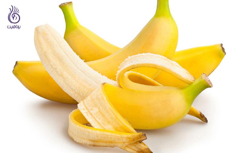 موز برای کاهش وزن- تغذیه- برنافیت