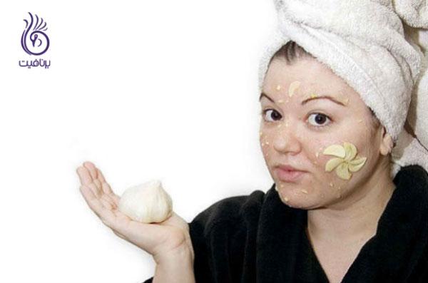 garlic for acne سیر