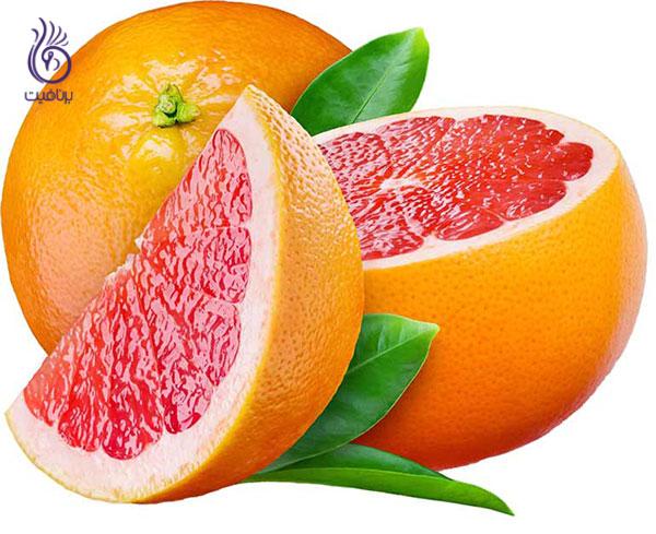 غذاهای کم کالری- گریپ فروت- برنافیت