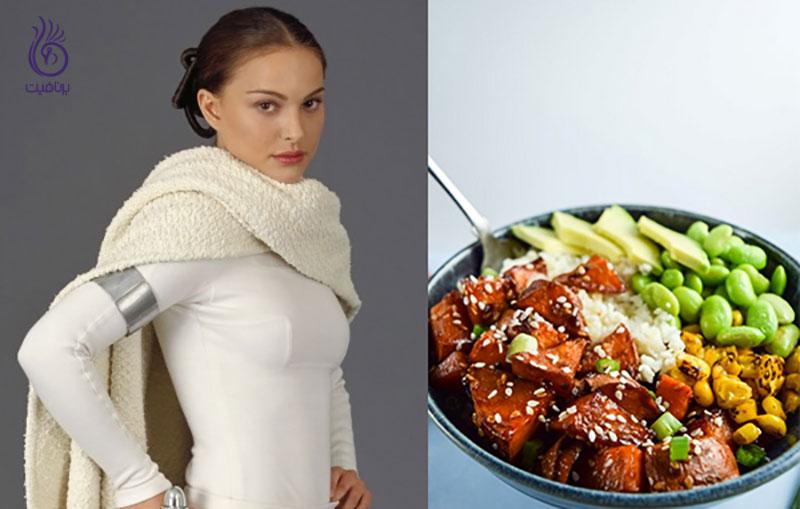 گیاهخواران- هنر پیشه های گیاهخوار- برنافیت
