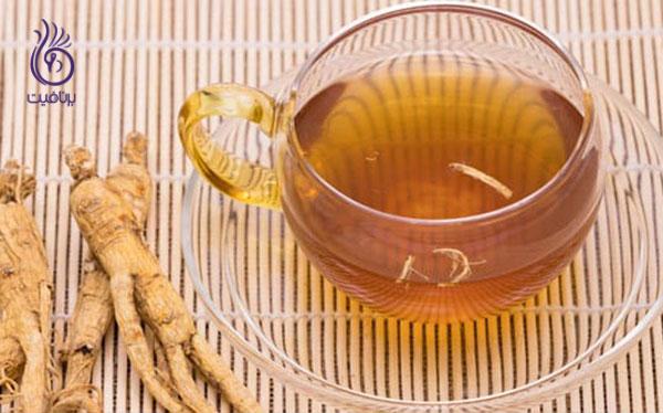 لاغری سریع- کاهش وزن سریع- چای جینسینگ- برنافیت
