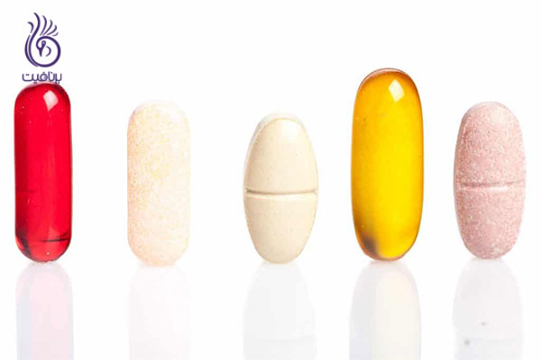 چروک پیشانی- مولتی ویتامین ها- برنافیت