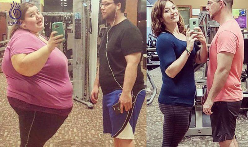 ترک مصرف فست فود- کاهش وزن- برنافیت