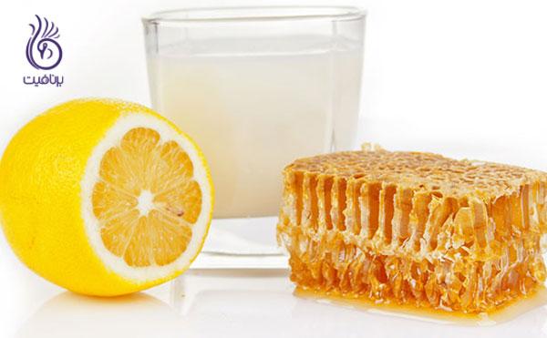 روشن شدن پوست- ماسک عسل، آبلیمو و شیر- برنافیت