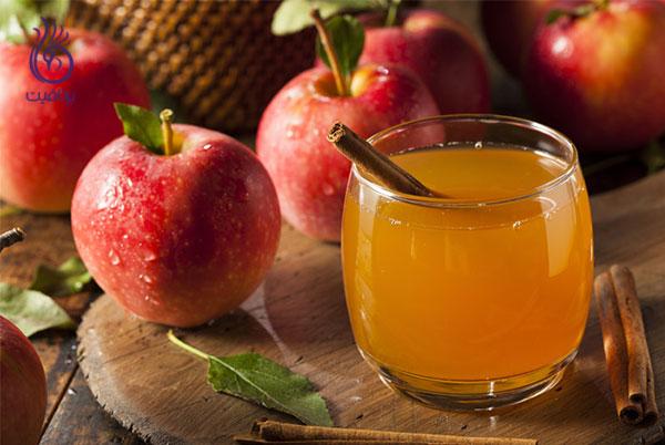 غذاهای ضد سلولیت- سرکه سیب- برنافیت
