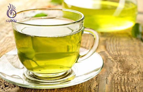 از بین بردن غبغب- چای سبز- برنافیت