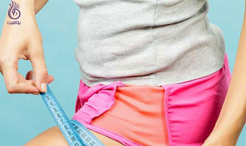 حرکات ورزشی مخصوص لاغری ران- برنافیت