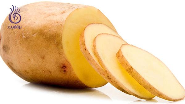 روشن شدن پوست- سیب زمینی- برنافیت