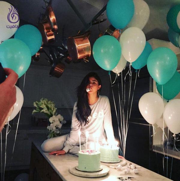 جشن تولد سلبریتی ها- سلنا گومز- برنافیت