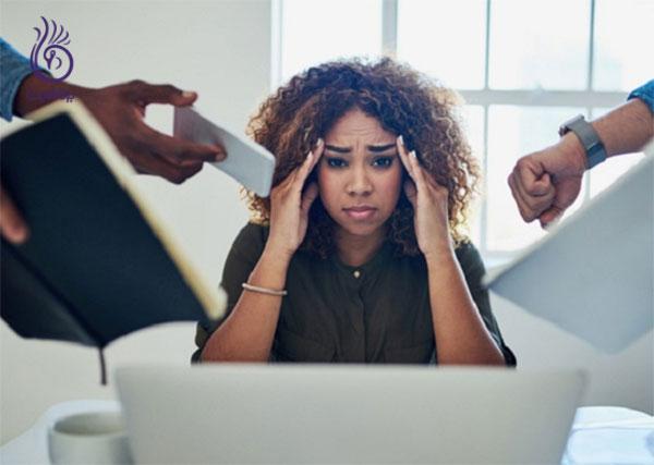 درمان ریزش مو- رفع استرس- برنافیت