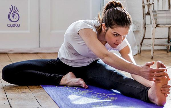ورزش های آسان برای تنبل ها- حرکات کششی- برنافیت