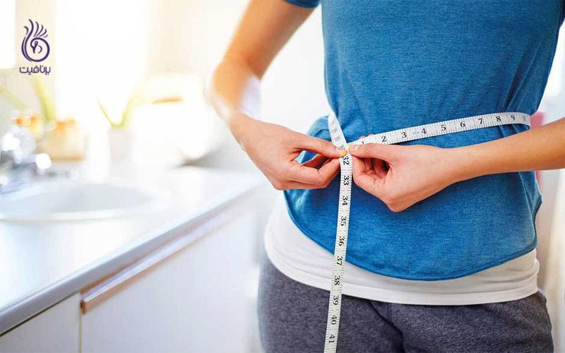 لاغری شکم- کاهش سایز و لاغری موضعی- برنافیت