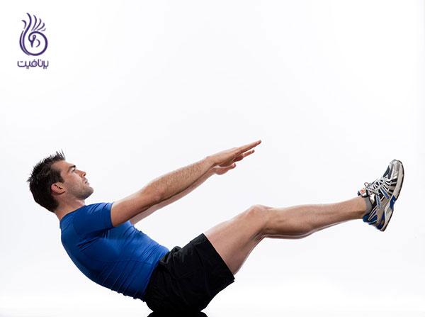 حرکات شکم- boat pose- برنافیت دکتر کرمانی