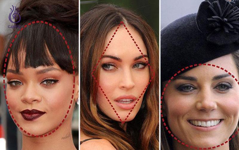 جذاب ترین شکل صورت- سلبریتی ها- برنافیت