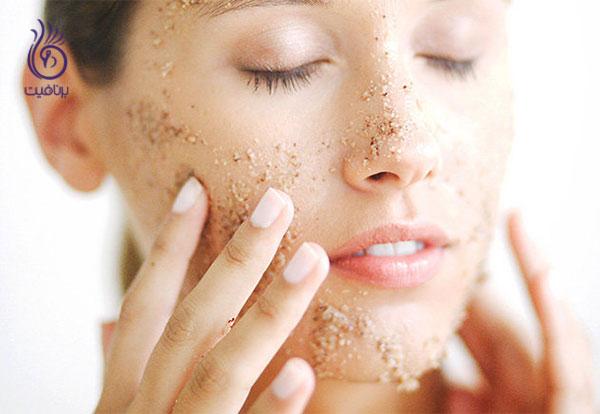 روشن شدن پوست- لایه برداری- برنافیت