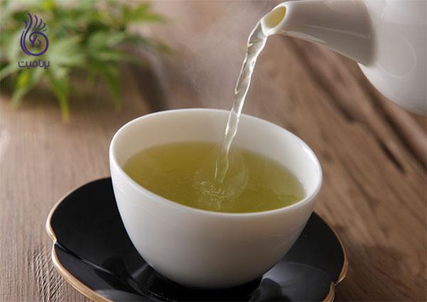 دمنوش لاغری- چای سبز- برنافیت