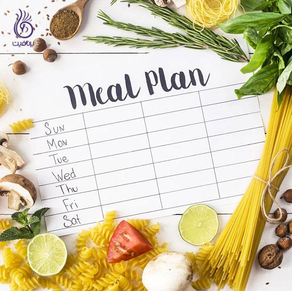 لاغری اصولی- برنامه ریزی غذایی- برنافیت دکتر کرمانی