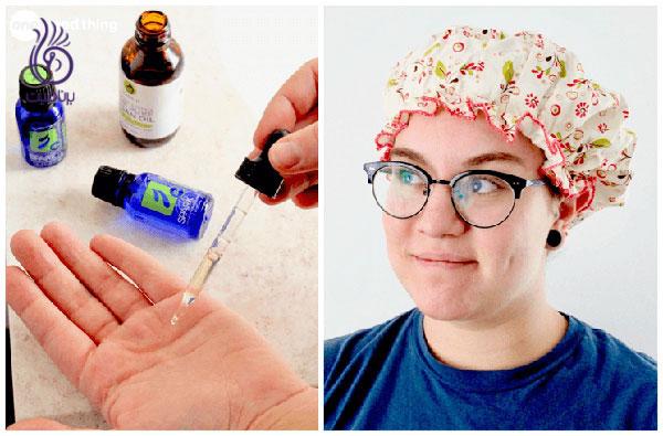 درمان ریزش مو- ماساژ روغن های ضروری- برنافیت