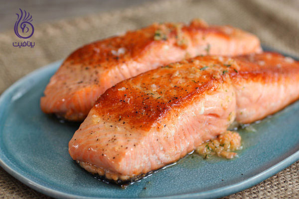 غذاهای ضد سلولیت- سالمون- برنافیت