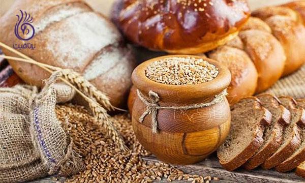 غذاهای ضد سلولیت- غلات کامل- برنافیت