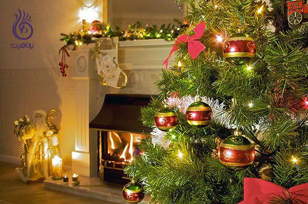 مدل ابرو درخت کریسمس- زیبایی- برنافیت