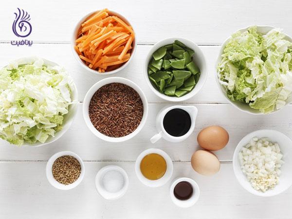 کالری شماری- غذاهای سالم- برنافیت