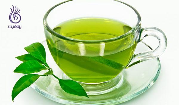 کاهش وزن در یک هفته- چای سبز- برنافیت