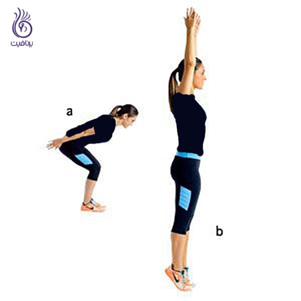 حرکات ورزشی- Skier-Swing- برنافیت