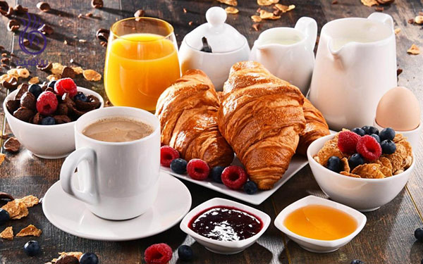 کاهش سایز بازو- صبحانه- برنافیت