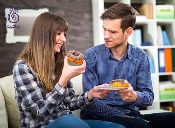 علت سلولیت- غذاهای فرآوری شده- برنافیت