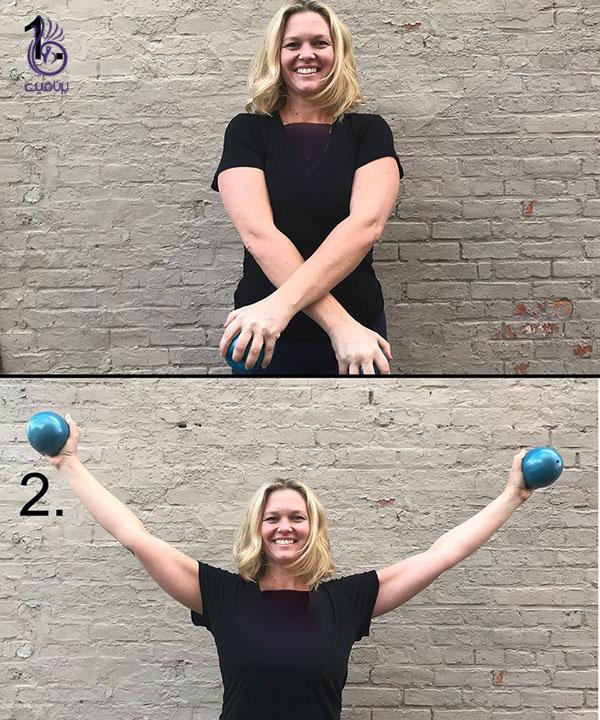تقویت عضلات بازو - حرکت pulling-a-sword- برنافیت