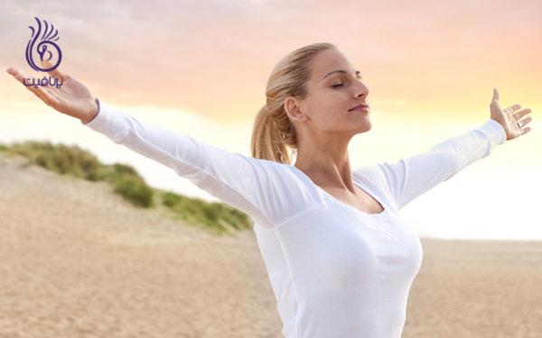 کوچک کردن شکم- کاهش استرس- برنافیت