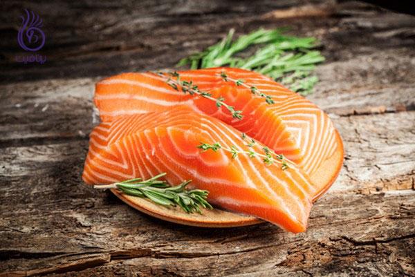 کوچک کردن شکم- ماهی های چرب- برنافیت
